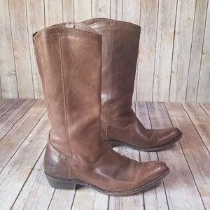FRYE Women's Rider Pull-On Boot size 10